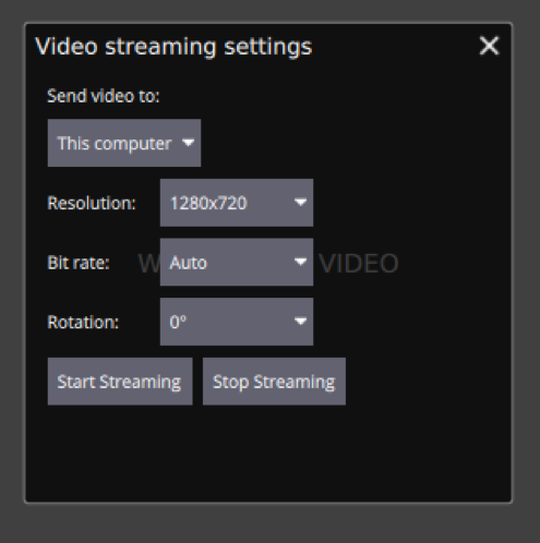 Video streaming - Edge docs
